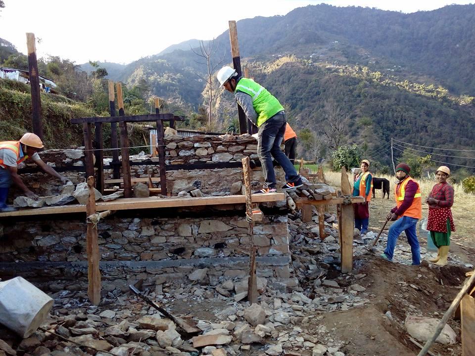 सिन्धुपाल्चोक जिल्लामा भूकम्पपछिको पुनःनिर्माण अन्तिम चरणमा